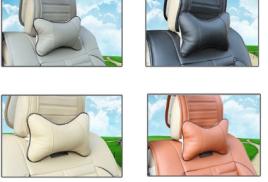 подушки-подголовники в ассортименте.