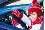 Почему опасно управлять автомобилем в зимних перчатках.